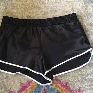 Victoria's Secret satin boxer shorts S